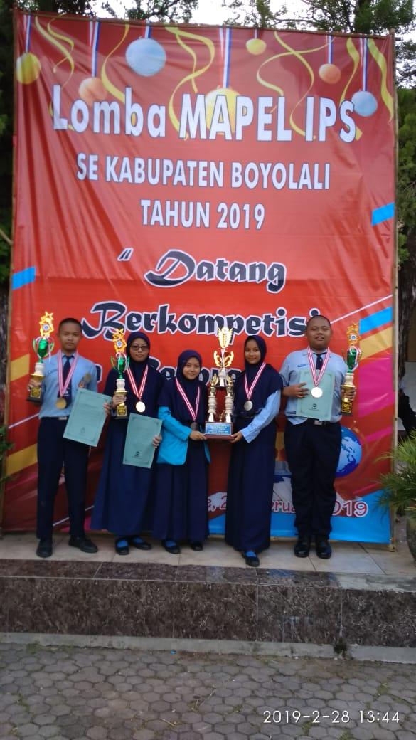 Lomba Mata Pelajaran IPS, Juara Umum Selalu Terulang Kembali Ke Negsa