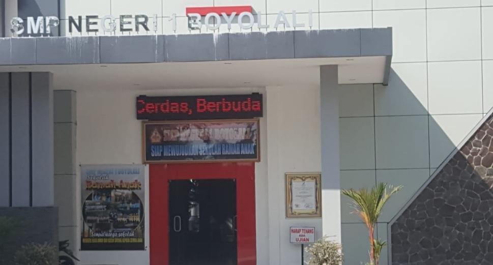 Info Penerimaan Peserta Didik Baru SMP Negeri 1 Boyolali 2019/2020